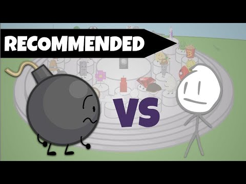 BFB But Only Recommended Characters Exist