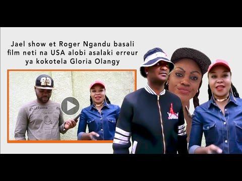 Jael show et Roger Ngandu basali film neti na USA alobi asalaki erreur ya kokotela Gloria Olangy