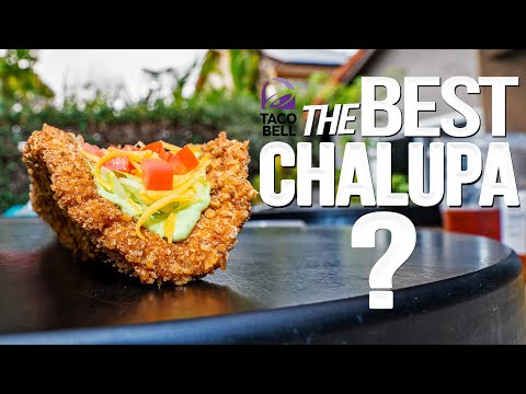 TACO BELL'S NAKED CHICKEN CHALUPA….BUT HOMEMADE & WAY BETTER! | SAM THE COOKING GUY 4K