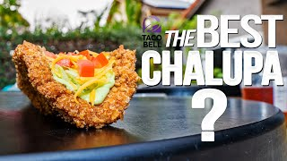 TACO BELL'S NAKED CHICKEN CHALUPA....BUT HOMEMADE & WAY BETTER! | SAM THE COOKING GUY 4K