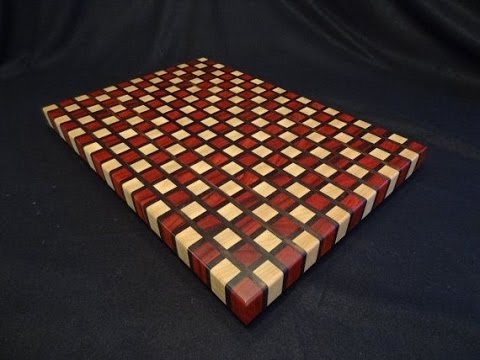 Amazin end grain cutting board