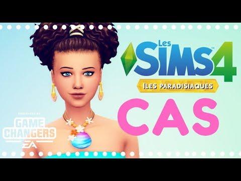 Iles Paradisiaques 🌴🐟 CAS | Les Sims 4