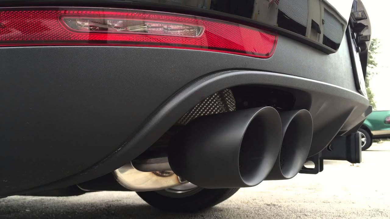 Porsche Macan S Exhaust Upgrade At Breitwerks