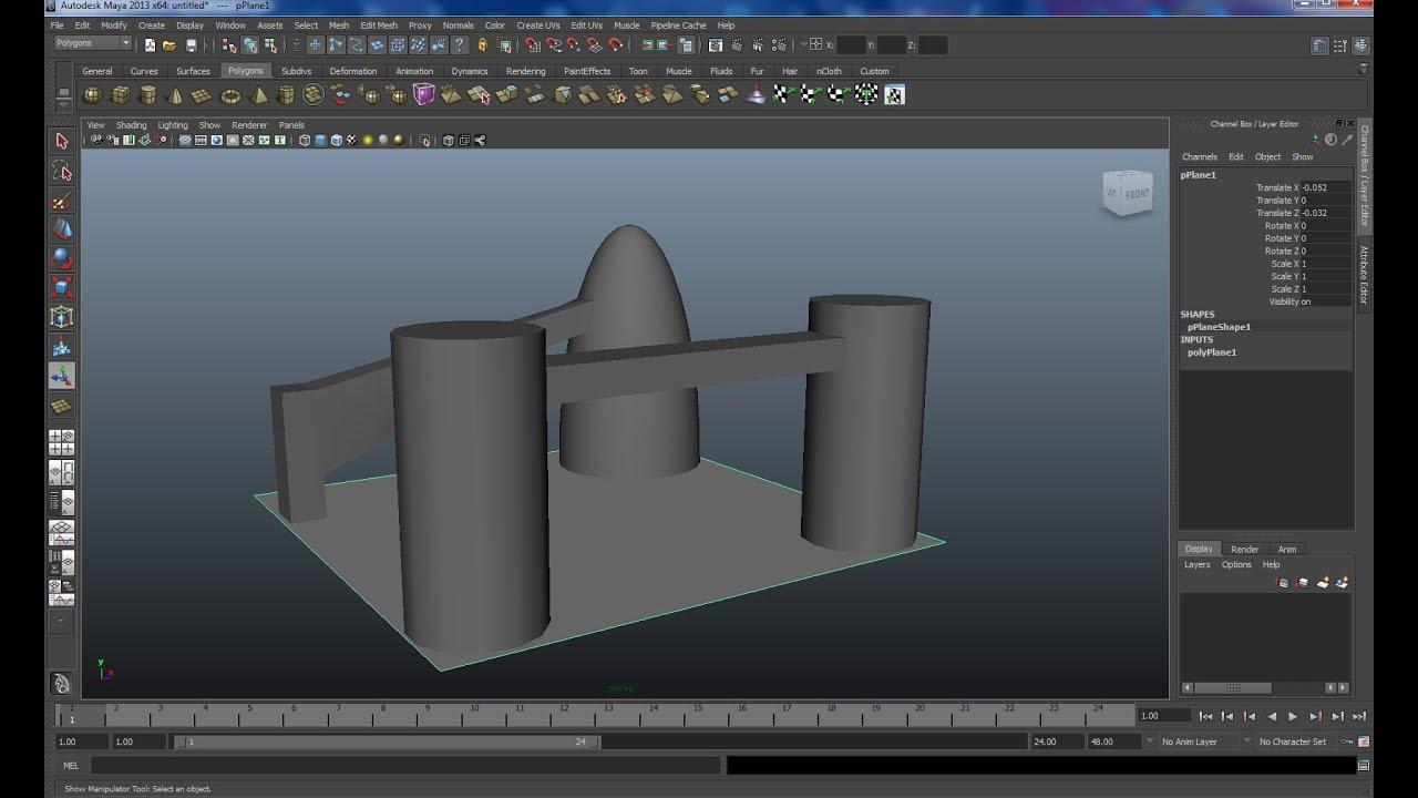 Maya tutorial: How to use the Bridge function in Maya