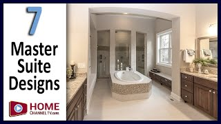7 Master Suite & Bathroom Designs | Interior Design & Decor Ideas