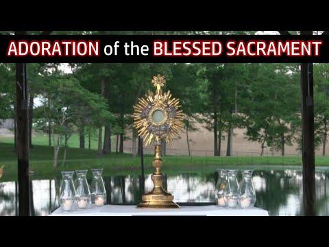 Adoration of the Blessed Sacrament   Thu, Sep. 24, 2020