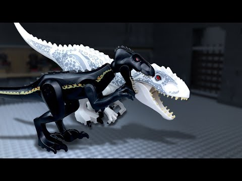 LEGO Jurassic World 🔴 Indoraptor Vs Indominus Rex -9 (Freedom)