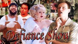 Defiance Show - Человек-борода и Натали. История идиотской любви (обзор клипа MC Doni feat. Натали )