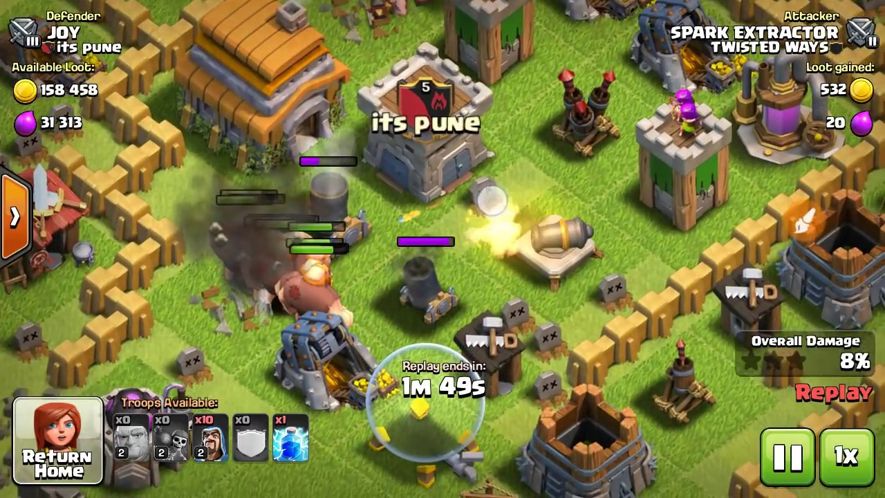 Best Th5 Attack Strategy 2019 100% Best attacking strategy for th5 in CLASH OF CLANS .   YouTube