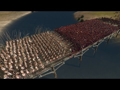 300 SPARTANS vs 6000 PRAETORIAN GUARDS (Best Roman Unit) - Total War: ROME 2