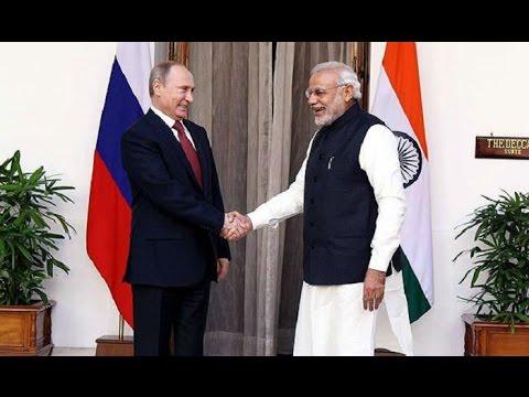 BRICS : PM Modi Holds Talks with Russian President Vladimir Putin