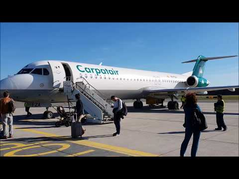 Carpatair op. for Adria Airways   | Fokker 100 | Skopje - Lj