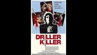 The Driller Killer 1979 black comedy horror film