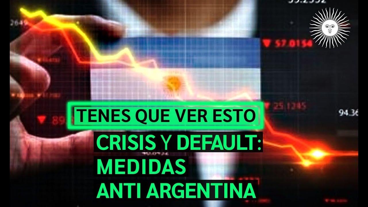 🔴 ¡ESTAMOS EN DEFAULT! Enterate la CRISIS que se viene por CULPA del GERENTE NOM Alberto FERNANDEZ