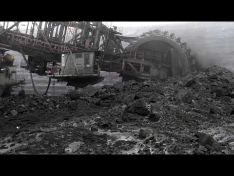 """Роторный экскаватор СРс(К)-2000 на разрезе """"Восточный"""""""