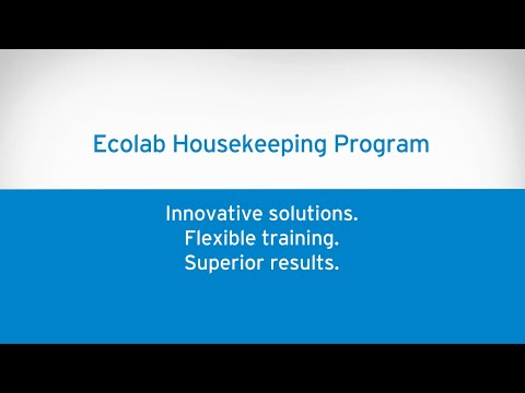 Housekeeping Training Program for Hospitality | Ecolab