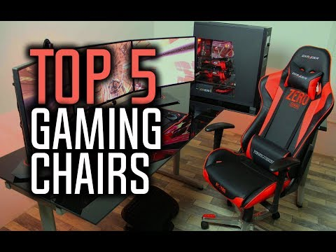 Best Gaming Chairs in 2018!