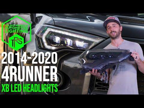 2014-2020 Toyota 4Runner Morimoto XB LED Headlights Overview