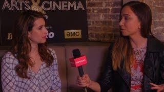 Emma Roberts Talks Growing Up and Meeting the Amazing Jennifer Aniston