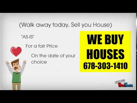 We Buy Houses Atlanta Call 678-303-1410