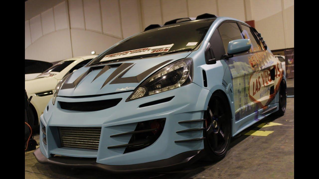 Modifikasi Street Racing Xtreme Honda Jazz Las Vegas