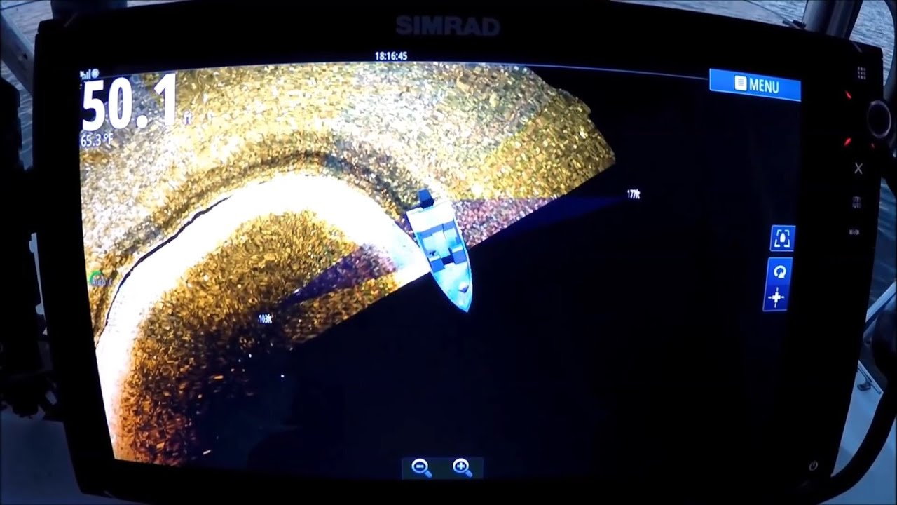 3D Structure Scan FIRST DEEP WATER LOOK! Basic Settings 3D Down Scan Simrad  Lowrance,Team OLD SCHOOL