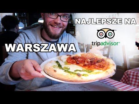Sprawdzam NAJLEPSZĄ PIZZĘ, SUSHI, DESER I MAKARON W Warszawie Wg TripAdvisor | GASTRO VLOG #122