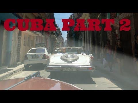 CUBA Vlog Part 2 | Let's Tour Havana! | Flight Attendant Life