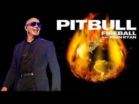 Pitbull Feat John Ryan  -  Fireball (Lyrics)