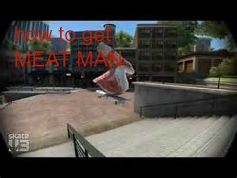 Skate 3 Secret Character:how To Get Meat Man! Easy!!!