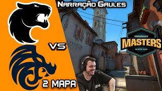 FURIA vs North #2 Segundo Mapa Inferno DreamHack Masters Winter 2020 Europe @Gaules