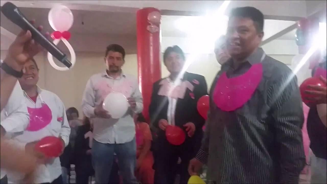 Juego Baby Shower Hombres Embarazados Youtube