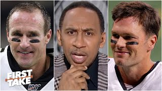 Stephen A. is very intrigued by the Tom Brady-Drew Brees matchup | First Take