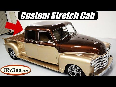 1950 Chevrolet Truck STRETCH CAB Restomod - MyRod.com