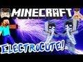 Minecraft ELECTRICITY GUN! Arc Thrower!
