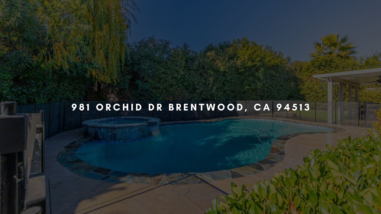 981 Orchid Drive, Brentwood, CA 94513