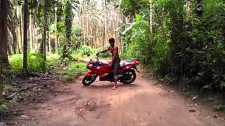 sexy Bike stunt ani