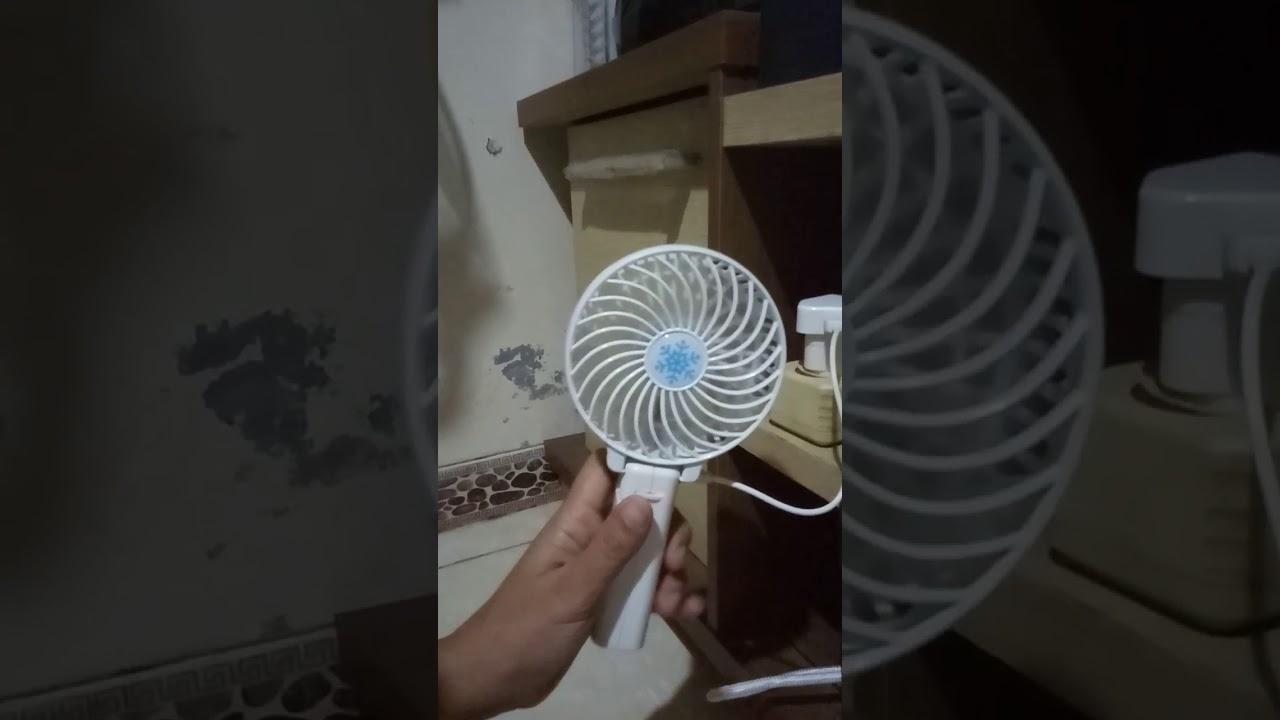 Kipas Angin Handy Mini Fan Rusak Youtube