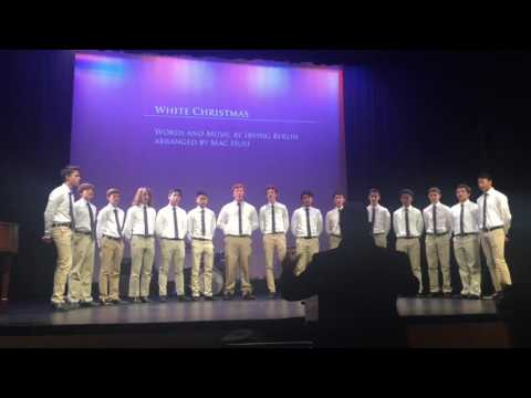 "Winter Concert: Stuart Hall High School Choral Group Sings ""White Christmas"""