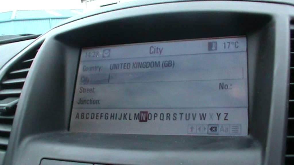 how to set a destination on a vauxhall insignia satellite navigation rh youtube com vauxhall insignia navi 600 infotainment manual opel insignia navi 600 manual