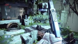Destiny Hunt the Wanted Ether Runner near the Endless Steps on Venus walkthrough tutorial
