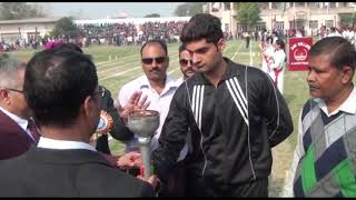 ANCHOR PROF.RANDHAWA | LIGHTING OF THE SPORTS FLAME |OLYMPIC TORCH | ANNUAL SPORTS DAY