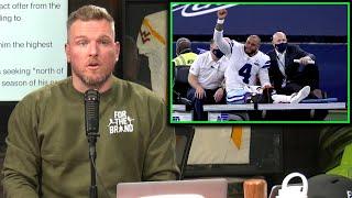 Pat McAfee Reacts To Dak Prescott's Horrific Injury