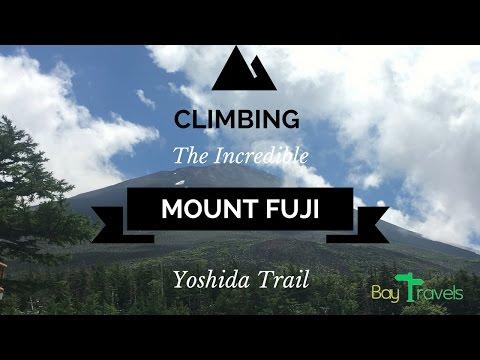 Climbing Mount Fuji Via Yoshida Trail