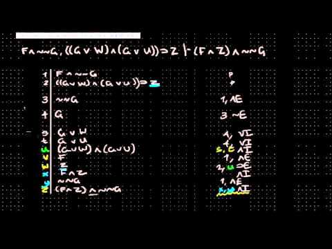 Formal Logic 3 - Intro to Proof