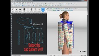 3d Modeling Software | 3d cad | 3D Images | Optitex 3d Fitting | Optitex 3d dress draping