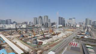 [Tokyo 2020 Games] The Olympic Village/ Paralympic Village Time-Lapse Movie