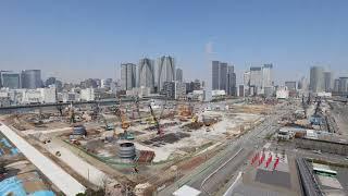 【東京2020大会】選手村 タイムラプス映像