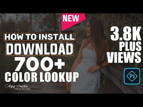 700 Plus Photoshop Presets Download | Download Photoshop 3D LUTs Presets | Color Lookup ||