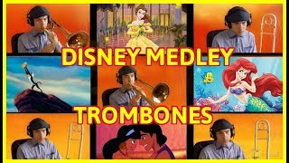 A Disney Trombone Choir Medley Featuring the songs Circle of Life -...